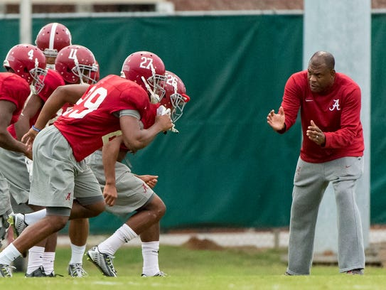 Assistant head coach Mel Tucker's transition to Alabama