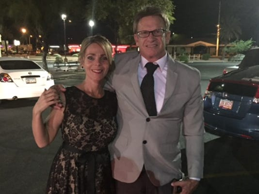 azcentral sports' Richard Obert and his wife, Natalie