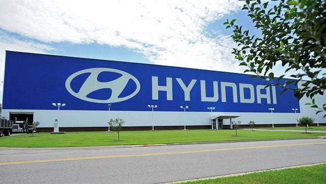 Hyundai's plant in Alabama.
