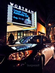 Scenes from the Diana Wortham Theatre at the 2016 Laugh