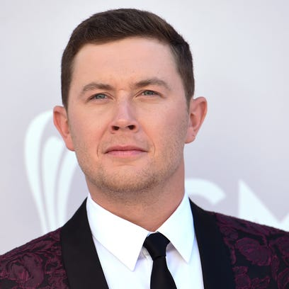 FILE - In this April 2, 2017 file photo Scotty McCreery