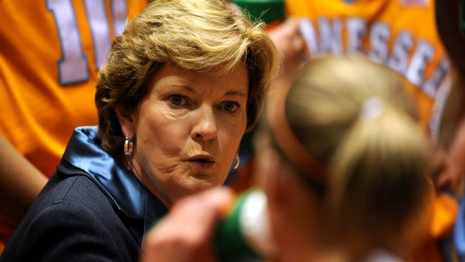 Summitt won eight national titles with Tennessee.
