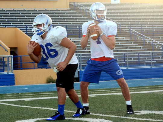 Carlsbad's offense looks to find balance with the run and passing games. Senior running back Mark Sonora and senior quarterback Jonah Leyva are among the key returners in 2016.