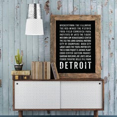 Say happy birthday to Detroit with fun city-inspired decor, accents