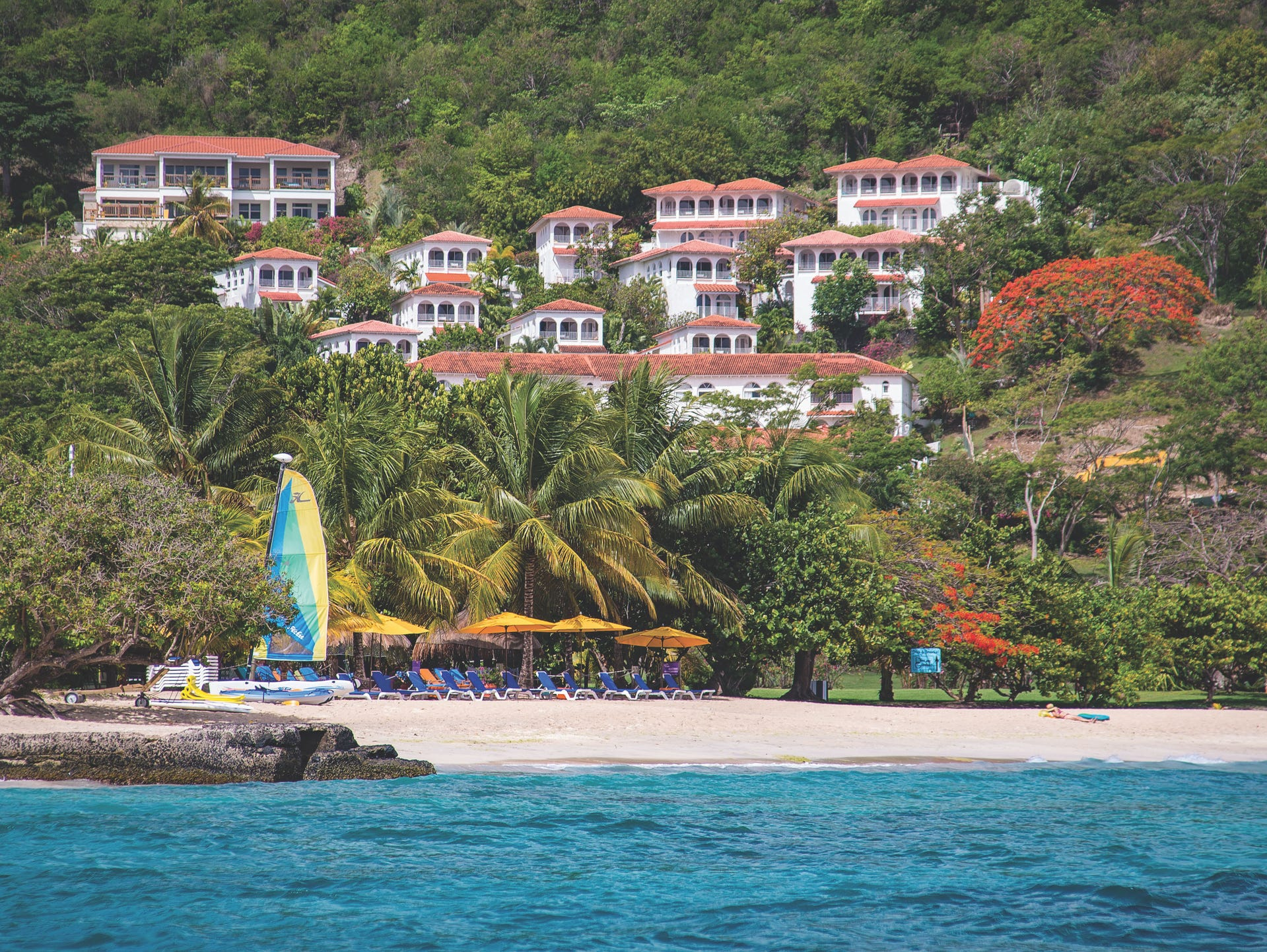 Grenada's Mount Cinnamon is ideal for large families