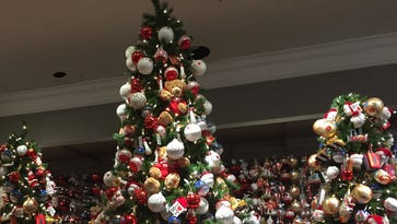 Ho, ho, what? Holiday displays show up at some stores