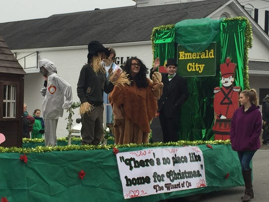 The Cumberland City Mayor's award went to this float