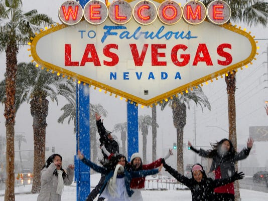 las vegas winter travel tips