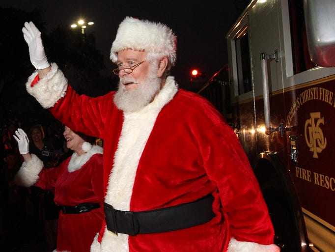 There are lots of reasons we love Santa. His jolly