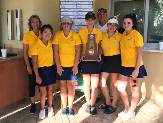 Naples girls golf