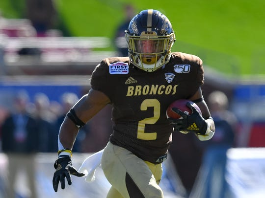 Western Michigan running back LeVante Bellamy.
