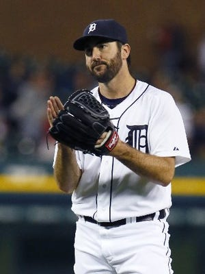 Justin Verlander showed his old form Wednesday night, and it was something.