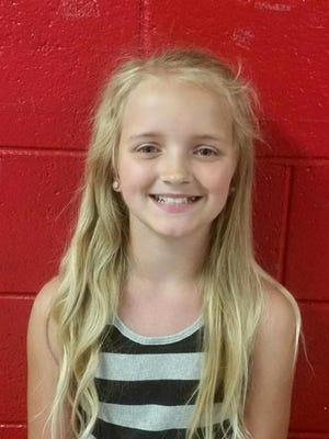 Carlie Marie Trent is seen in an undated photo provided by the Tennessee Bureau of Investigation via the Rogersville Police Department. Carlie, 9, of Rogersville was reported missing on Wednesday after a non-custodial uncle, Gary Simpson, signed her out of school under false pretenses, the TBI said.
