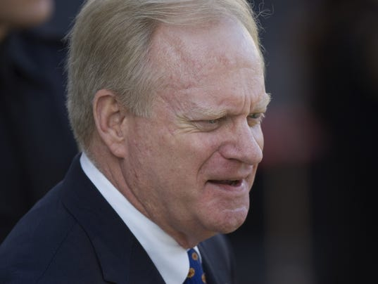 Former Arizona  Gov. Fife Symington in 2009.