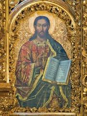 Jesus as depicted in St. Sophia's Cathedral in Kiev.