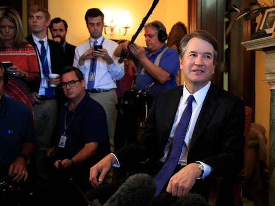 Supreme Court nominee Brett Kavanaugh has been making