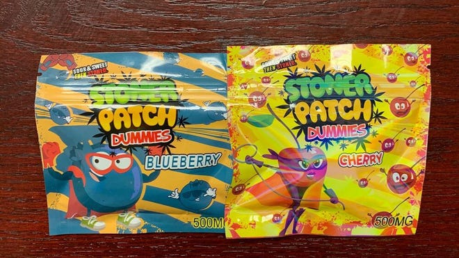 DeKalb County drug agents and deputies seized marijuana edibles packaged to look like popular children's candy Tuesday.