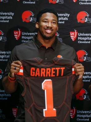 2017: Myles Garrett, DE, Texas A&M - Cleveland Browns
