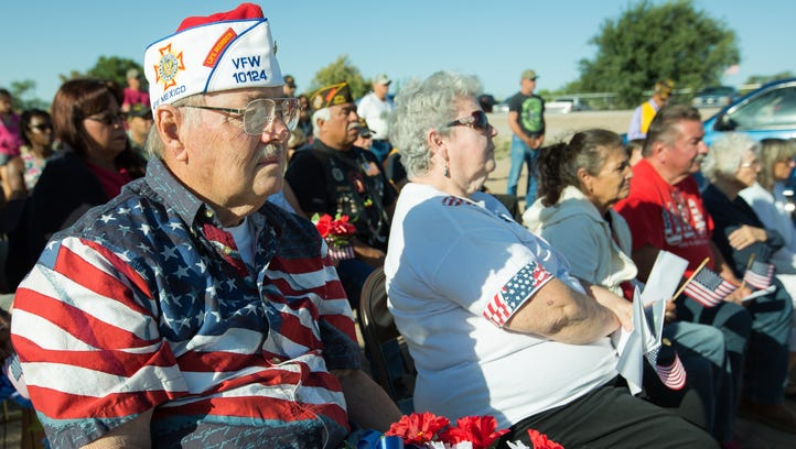 Las Cruces honors military men and women who have died