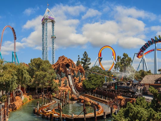 Knott's Berry Farm offers more thrill rides than Disneyland
