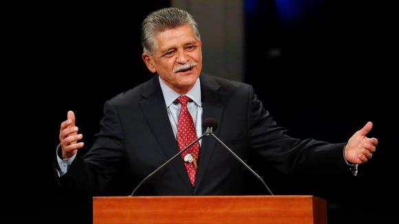 Tommy Espinoza, president of the Raza Development Fund Inc.