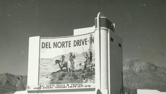 Del Norte Drive-In Theater, Alamogordo Highway