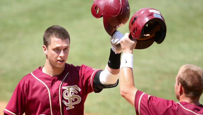 Former Florida State catcher Buster Posey claimed the Collegiate Baseball Player of the Year award before beginning a fantastic pro career.