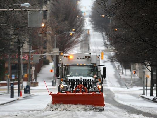 AP Winter Weather Georgia
