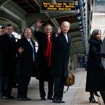 Joe Biden leaves D.C. on -- what else? -- Amtrak