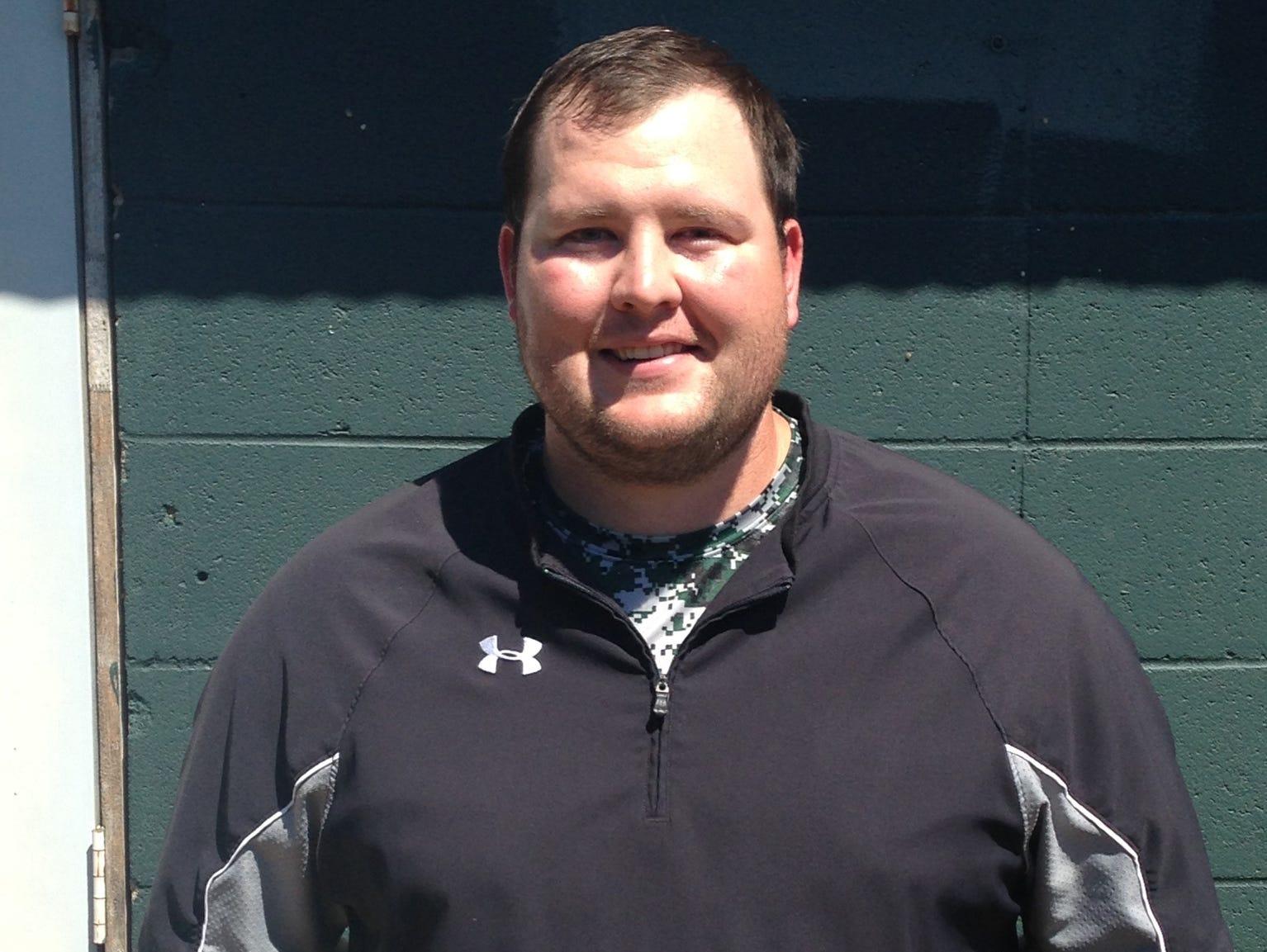 Colton Knuckols is Rapides' new baseball coach.