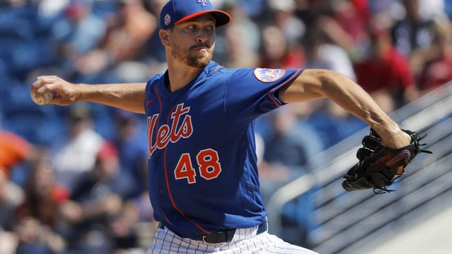 Mets ace and DeLand native Jacob deGrom will take aim at his third consecutive National League Cy Young Award when the Major League Baseball season begins next month.