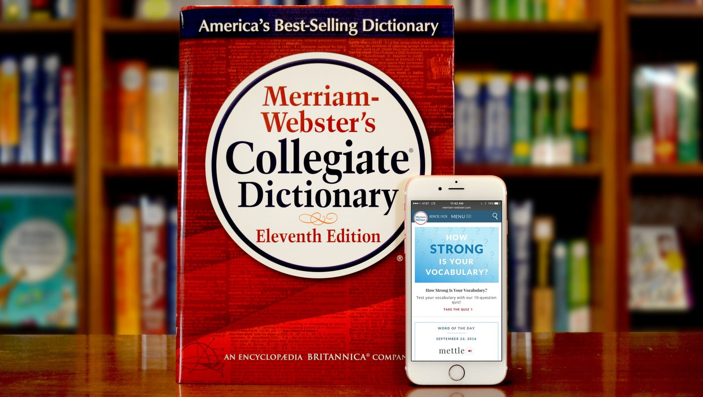 Cryptocurrency, dumpster fire, mansplain: These are Merriam-Webster Dictionary's newly defined words