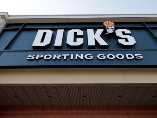 A Dick's Sporting Goods store is seen in Arlington