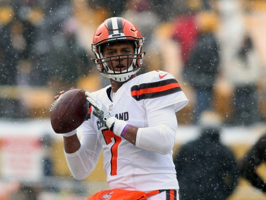 QB DeShone Kizer (7): Traded from Browns to Packers