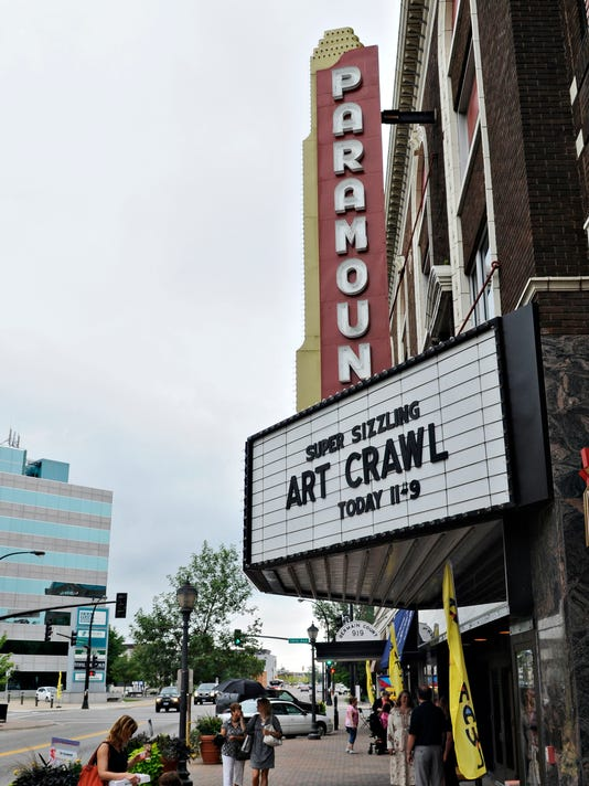 Paramount will use space for art exhibits