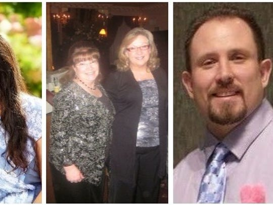 The four victims of the March 22 shootings in Marathon County, from left, Sara Quirt Sann, Dianne Look, Karen Barclay and Detective Jason Weiland.