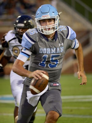 Spartanburg (S.C.) Dorman quarterback Collin Hill is one of the prized possessions of the CSU football 2014 recruiting class.