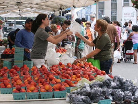 The White Plains Farmers Market will be held twice