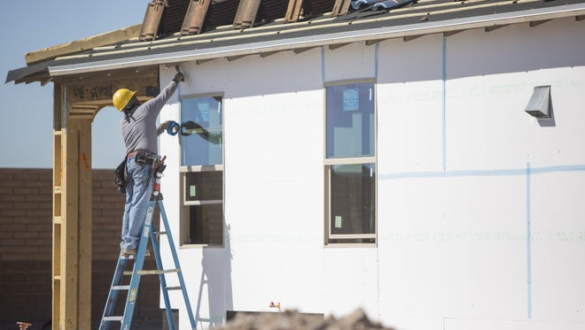 Home building in the Valley has steadily been climbing this year.