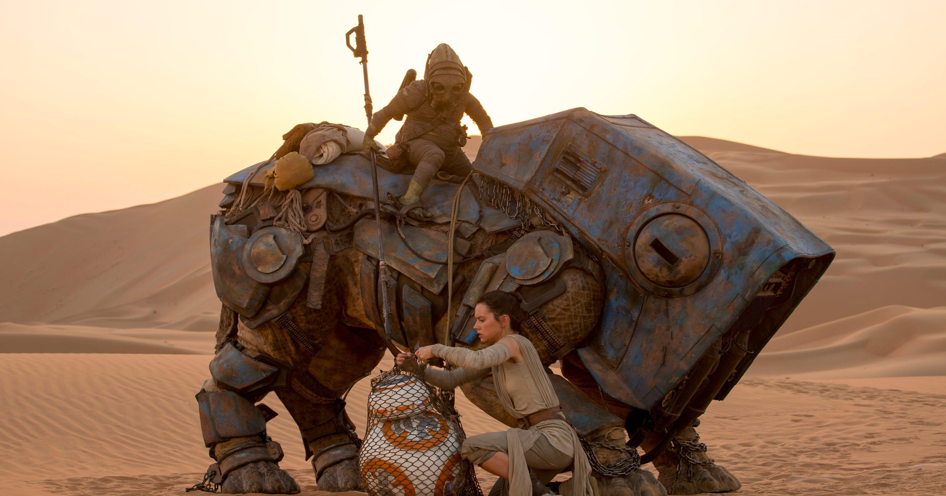 SPOILER ALERT! Five biggest 'Star Wars: The Force Awakens