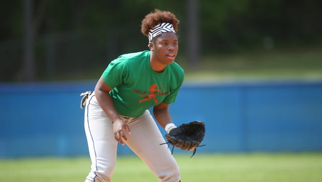Godby senior pitcher Kyaira Brown is 10-5 with a 1.00 ERA this season while hitting .420 with 21 RBI.