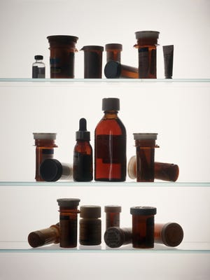 Medicine cabinet. Credit: photos.com