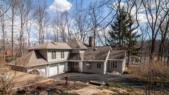 This three-bedroom lakeside home will make you feel