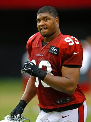 """Cardinals defensive end Calais Campbell called the end of training camp """"the best thing ever."""""""