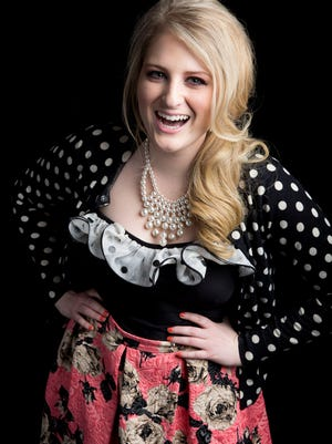 """Meghan Trainor is on a high note right now for her pop single """"All About That Bass."""""""
