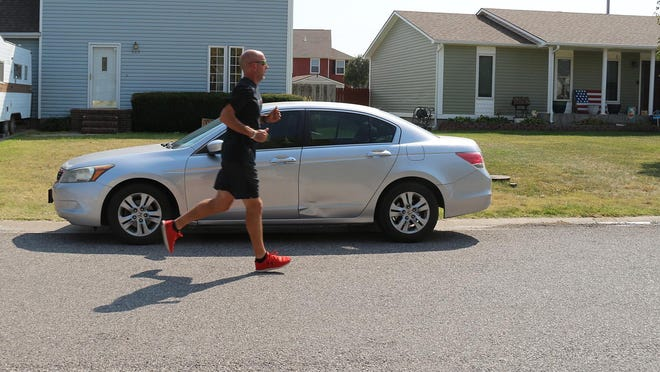 In order to raise awareness for Recovery Month for those afflicted with addiction, Roderick Baker will run for 24 hours starting at 9 a.m. Sept. 26 until 9 a.m. Sept. 27.