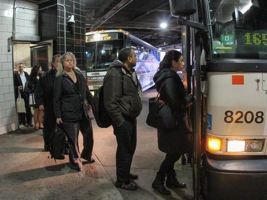 nyc commuters nj transit bus gates changing. Black Bedroom Furniture Sets. Home Design Ideas