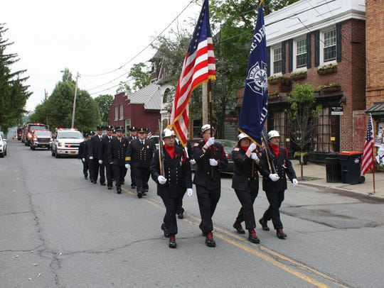 A scene from the Millerton Memorial Day parade on Monday.