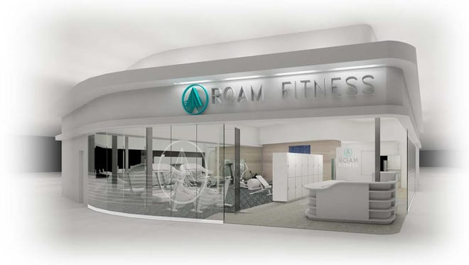 ROAM Fitness claims to be the first public-use post-security airport fitness center with both a gym and shower facilities.