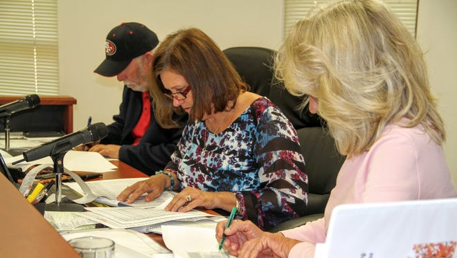 Otero County Commissioners canvassed some of the rural precinct's results at their regular county commission meeting Thursday morning.